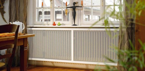 Dining-room radiator cover